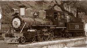 Arte Digital/Máquinas - A Locomotiva de Conservatória