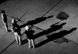 /Há uma sombra que se rende...