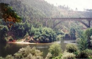 Paisagem Natural/Ponte de Santiago_Rio Vouga