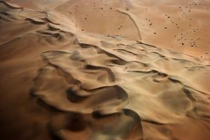 Abstrato/Os sedosos véus do Deserto ...