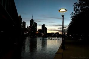 Paisagem Urbana/Amanhecer em Melbourne