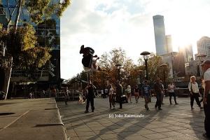 Gentes e Locais/Parkour em Melbourne