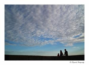 Gentes e Locais/The sky above us