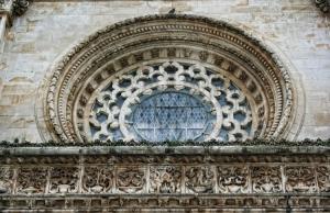 História/Rosácea do Mosteiro