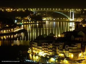 Gentes e Locais/ Á noite o, RIO DOURO, faz jus ao seu NOME...