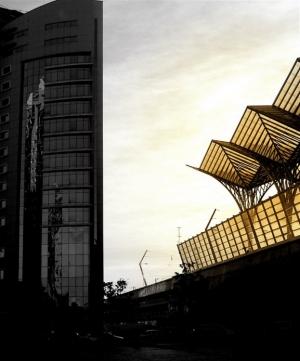 Paisagem Urbana/asas de âmbar