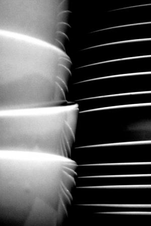 Abstrato/Tigelas e pratos: um abstracto