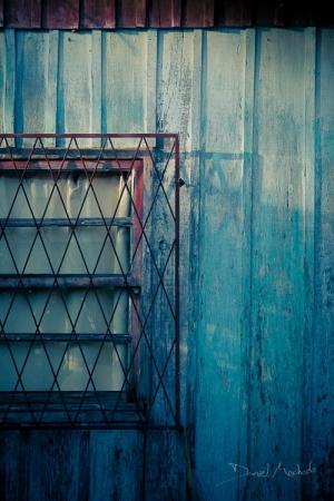 Abstrato/Grade, tábuas e vidros