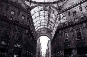 Paisagem Urbana/Vittorio Emanuele II em Milão