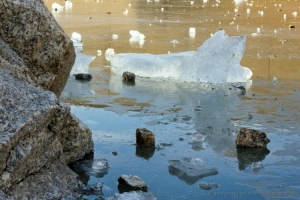 "Paisagem Natural/""Fragments of ice"""