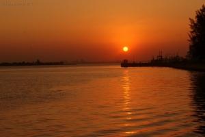 Paisagem Natural/Pôr do sol de Maputo