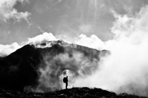/O homem e a montanha
