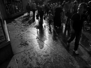/as sombras da chuva.