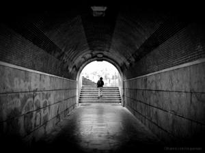 """Gentes e Locais/O meu túnel favorito / """"On the stairs"""""""