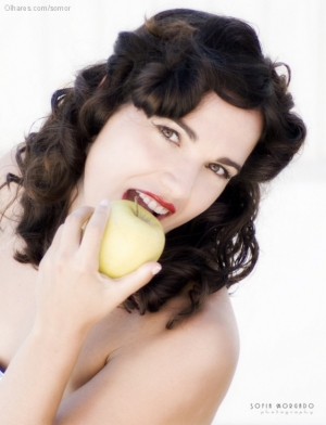 Retratos/The apple