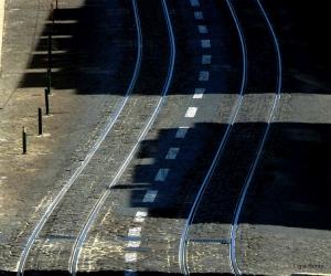 Paisagem Urbana/Sombras na calçada