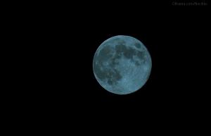 Paisagem Natural/Blue moon