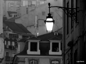 Gentes e Locais/Quando o sol se prepara para dizer adeus a Lisboa