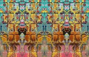 Arte Digital/Casa das duas portas