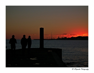 Outros/Silhouettes at SunSet