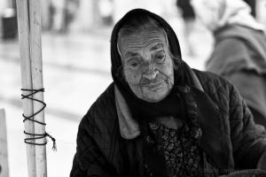 Retratos/vendedora de castanhas