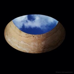 Abstrato/Céu azul