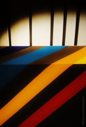 Abstrato/O dobrar das cores