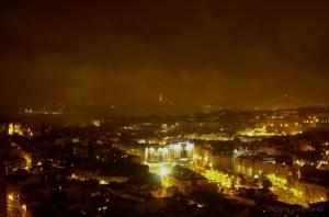 Gentes e Locais/Vista sobre Lisboa e Cristo Rei do Miradouro da Sr
