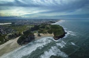 Paisagem Urbana/Parque e praia da Guarida em Torres