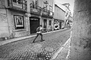 /Skater in the city