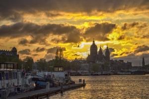 /Sunset @Oosterdok