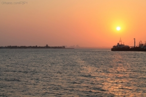 Gentes e Locais/Pôr do sol em Maputo