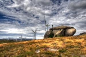 Paisagem Natural/Linhas de vento...