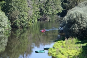 Paisagem Natural/De canoa no Paraíso