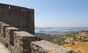 Paisagem Natural/A muralha e o Alqueva