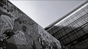 Paisagem Urbana/Luz e Sombra sobre o Arts..