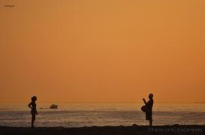 Gentes e Locais/O fotógrafo e a modelo