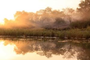 Paisagem Natural/Entardecer em Angola