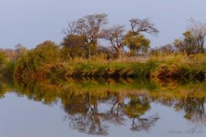 Paisagem Natural/Pelo rio Kavango