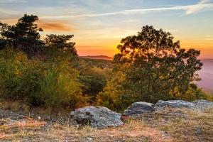 /Pôr-do-sol nas terras altas