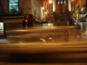 Paisagem Urbana/Velocidade da luz