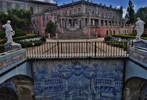 /O palácio de Queluz