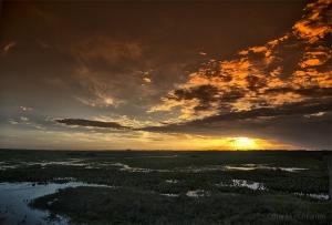 Paisagem Natural/Por do Sol do Sul