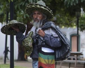 Retratos/Vendedor de chapéu