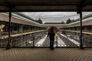 Gentes e Locais/Brown umbrella