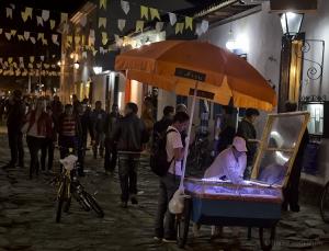 Paisagem Urbana/Vendedora de doce