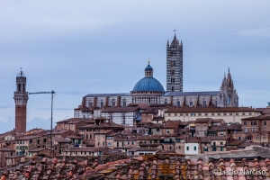 /Catedral de Siena ao cair da tarde!