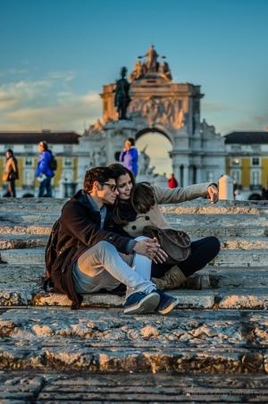 Gentes e Locais/Lisboa apaixonada...