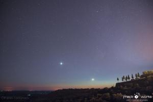 Paisagem Natural/Lua e Vénus