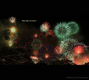 Espetáculos/...Fireworks in Madeira...